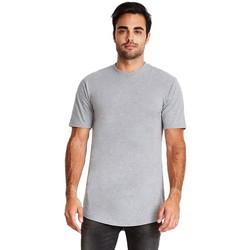 textil Herre T-shirts m. korte ærmer Next Level NX3602 Heather Grey