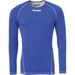 textil Herre Langærmede T-shirts Kempa Maillot de compression ML  Attitude bleu roi