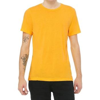 textil T-shirts m. korte ærmer Bella + Canvas CV3413 Yellow Gold Triblend