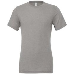 textil T-shirts m. korte ærmer Bella + Canvas CV3413 Athletic Grey Triblend