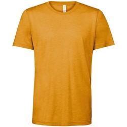 textil T-shirts m. korte ærmer Bella + Canvas CV3413 Mustard Triblend