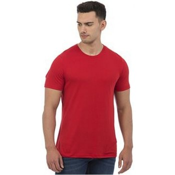 textil Herre T-shirts m. korte ærmer Awdis JT001 Heather Red