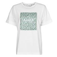 textil Dame T-shirts m. korte ærmer Aigle RAOPTELIB Hvid