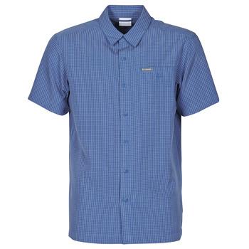 textil Herre Skjorter m. korte ærmer Columbia LAKESIDE TRAIL Blå