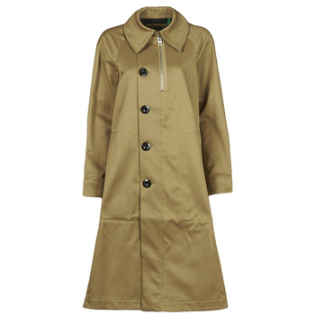 textil Dame Trenchcoats G-Star Raw TRENCH WMN Beige