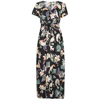 textil Dame Lange kjoler Roxy A NIGHT TO REMEMBER Sort