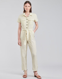 textil Dame Buksedragter / Overalls Roxy BEACH WONDERLAND Hvid