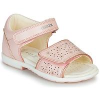Sko Dreng Sandaler Geox B VERRED Pink