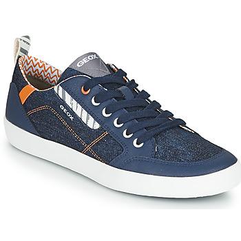 Sko Lave sneakers Geox JR KILWI GARÇON Blå