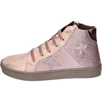Sko Pige Sneakers Asso BK216 Pink