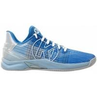 Sko Dame Multisportsko Kempa Chaussures femme  Attack One 2.0 bleu/gris clair chiné