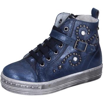 Sko Pige Sneakers Eb sneakers pelle Blu