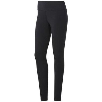 textil Dame Leggings Reebok Sport TE Cotton Legging Sort