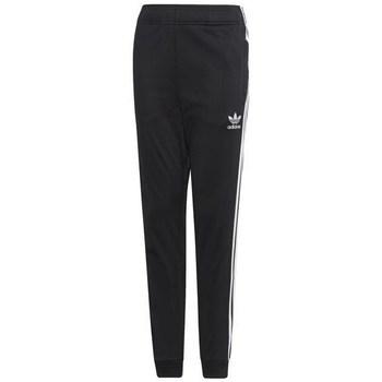 textil Børn Træningsbukser adidas Originals Junior Superstar Pants Sort