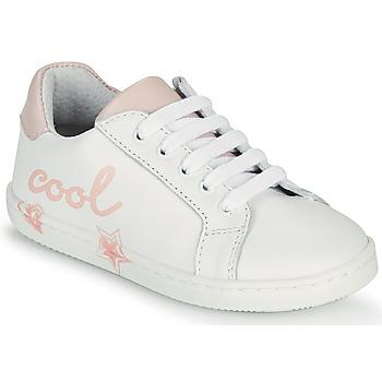 Sko Pige Lave sneakers GBB EDONIA Hvid