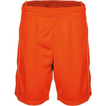textil Herre Shorts Proact Short  Basket-Ball orange