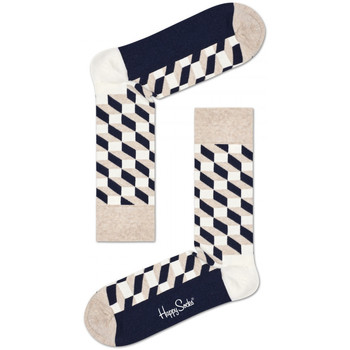 Accessories Herre Strømper Happy Socks Filled optic sock Flerfarvet