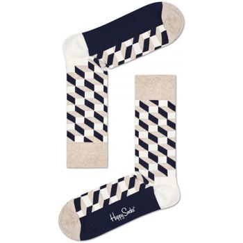 Accessories Herre Strømper Happy Socks Filled optic sock Flerfarvet