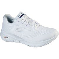 Sko Dame Sneakers Skechers Womens Arch Fit 149057 WNVR 03-1012 white/navy/red
