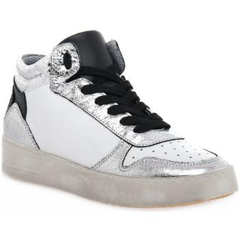 Sko Dame Høje sneakers At Go GO DUCK ARGENTO Grigio