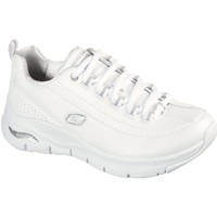 Sko Dame Lave sneakers Skechers Womens Arch Fit 149146 WSL 03-1032 white/silver