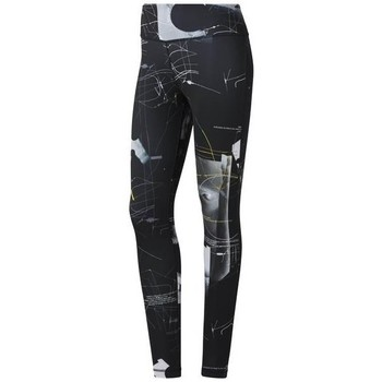 textil Dame Leggings Reebok Sport Wor Aop Tight Sort