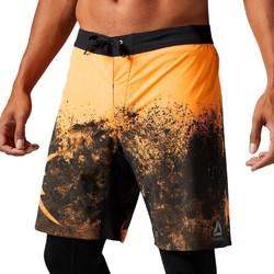 textil Herre Halvlange bukser Reebok Sport Splatter Short Sort, Orange