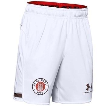 textil Dreng Shorts Under Armour JR FC ST Pauli Replica Hvid