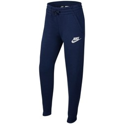 textil Dreng Træningsbukser Nike Sportswear Blå