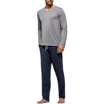 textil Herre Pyjamas / Natskjorte Impetus Travel 4593F84 G20 Grå