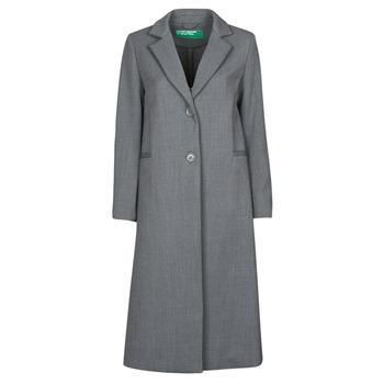 textil Dame Frakker Benetton  Grå