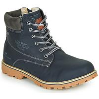 Sko Dreng Støvler Tom Tailor 70502-NAVY Marineblå