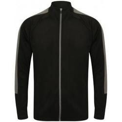 textil Herre Sweatshirts Finden & Hales  Black/Gunmetal Grey