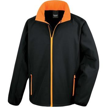 textil Herre Sportsjakker Result Veste  Softshell Printable noir/noir