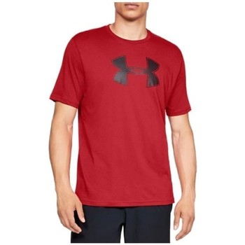 textil Herre T-shirts m. korte ærmer Under Armour Big Logo SS Tee Rød