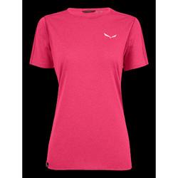 textil Dame T-shirts m. korte ærmer Salewa Pedroc 3 DRY W S/S TEE 27726-6385 pink