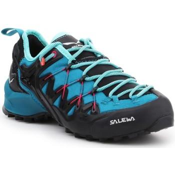 Sko Dame Vandresko Salewa WS Wildfire Edge 61347-8736 blue, black