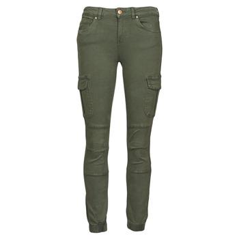 textil Dame Cargo bukser Only ONLMISSOURI Kaki