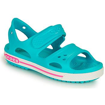 Sko Pige Sandaler Crocs CROCBAND II SANDAL PS Blå / Pink