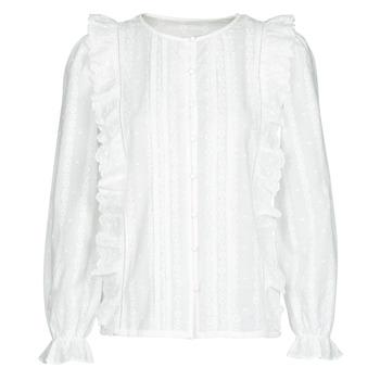 textil Dame Toppe / Bluser Betty London NIAMAIM Hvid