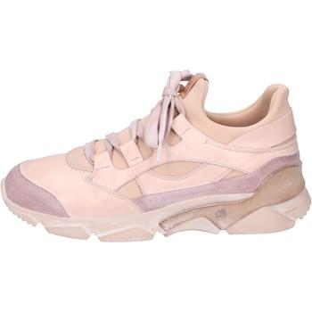 Sko Dame Høje sneakers Moma BK453 Rose