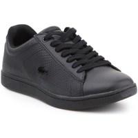 Sko Dame Lave sneakers Lacoste Carnaby Evo Sort