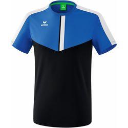 textil Herre T-shirts m. korte ærmer Erima T-shirt  Squad bleu royal/bleu marine
