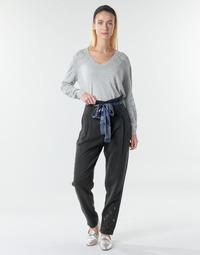 textil Dame Løstsiddende bukser / Haremsbukser Desigual CHARLOTTE Sort