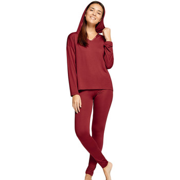 textil Dame Pyjamas / Natskjorte Impetus Woman 8514H87 A1E Rød