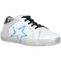 Sko Dreng Lave sneakers Grunland BIANCO TADO Bianco