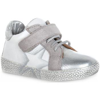 Sko Dreng Lave sneakers Grunland BIANCO NOON Bianco