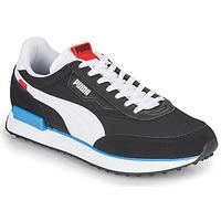 Sko Herre Lave sneakers Puma FUTURE RIDER PLAY ON Sort / Hvid