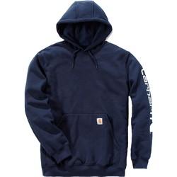 textil Sweatshirts Carhartt Sweatshirt à capuche  Logo bleu marine