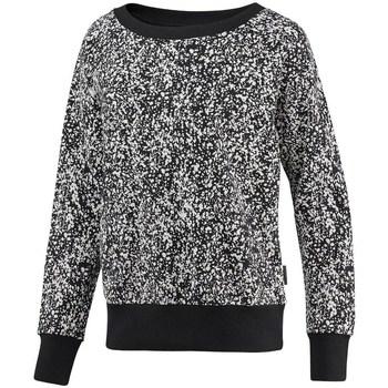 textil Dame Sweatshirts Reebok Sport Crewneck Speckled Hvid, Sort